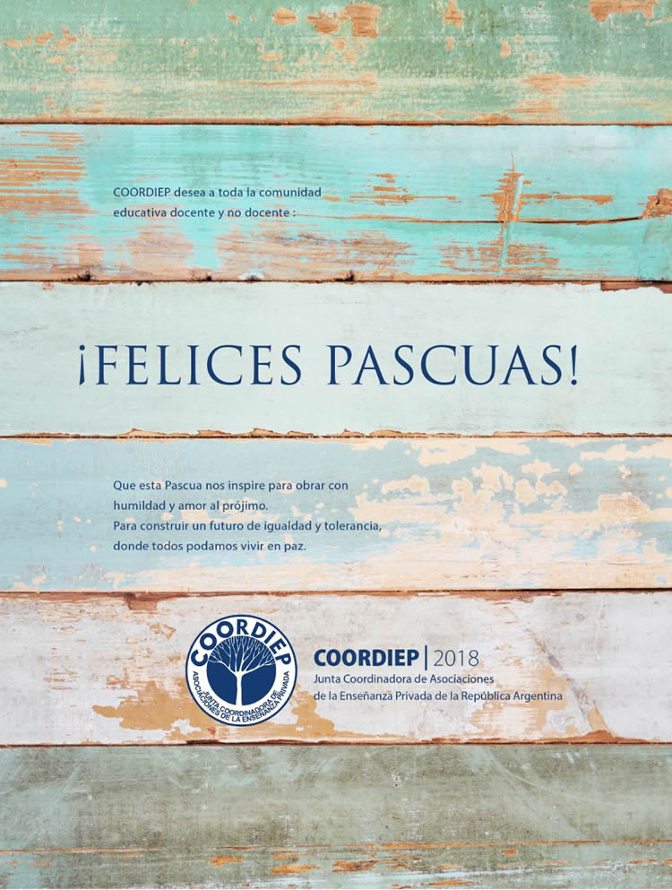 coordiep 2018_Felices Pascuas