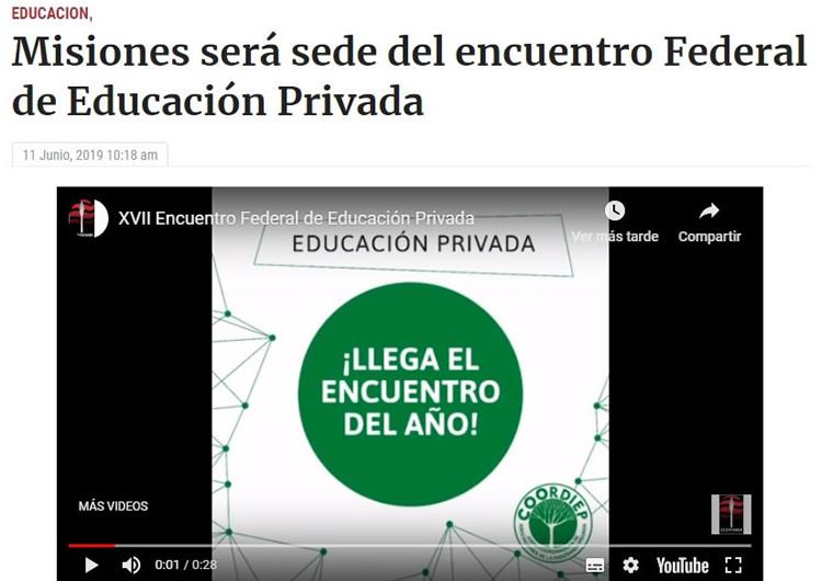 coordiep 2019_el Encuentro en la prensa