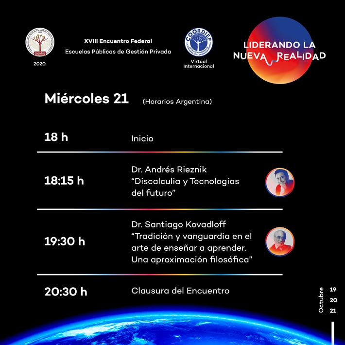 coordiep 2020_encuentro_agenda miercoles 21