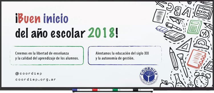 coordiep 2019_Inicio del año escolar