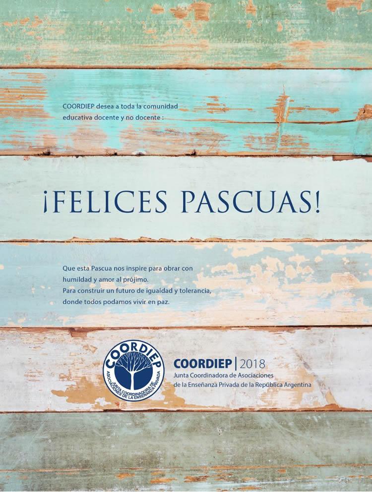 coordiep 2018_Felices Pascuas