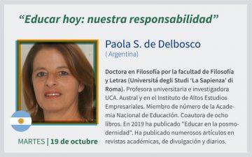 COORDIEP 2021 - XIX Encuentro Federal - Paola Delbosco